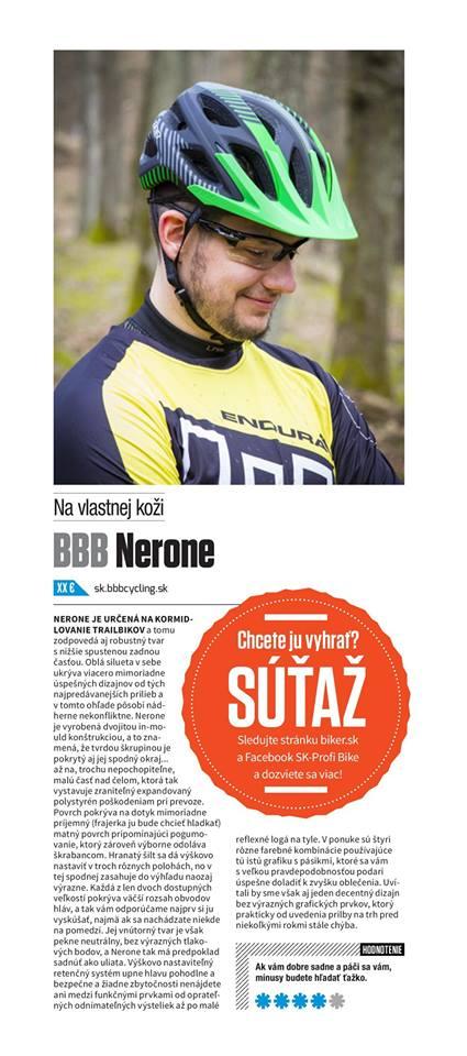 Článok v časopise Biker
