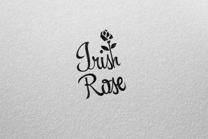 Návrh loga pre Irish Rose band