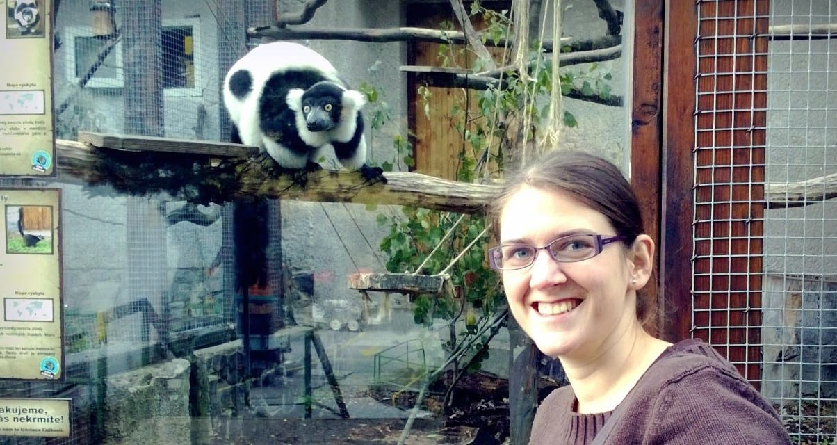 S lemurom v ZOO Košice