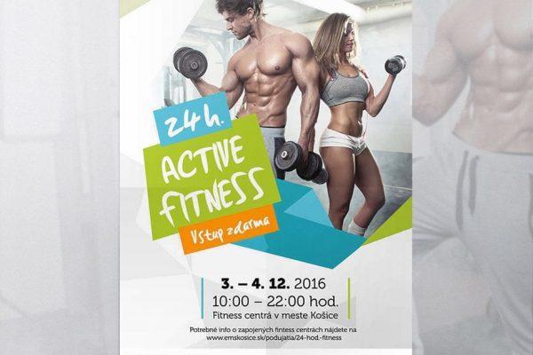 24 hodín Active Fitness Košice