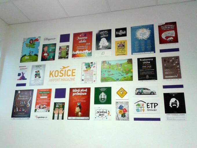 Kreatívna stena kancelária Lemur Košice