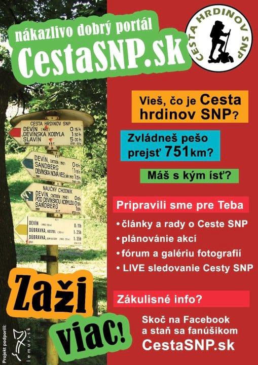 8f1126216 plagát Cesta SNP | LEMUR