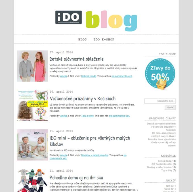 iDO Košice blog