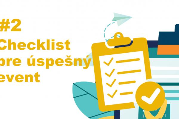 checklist pre event, podujatie