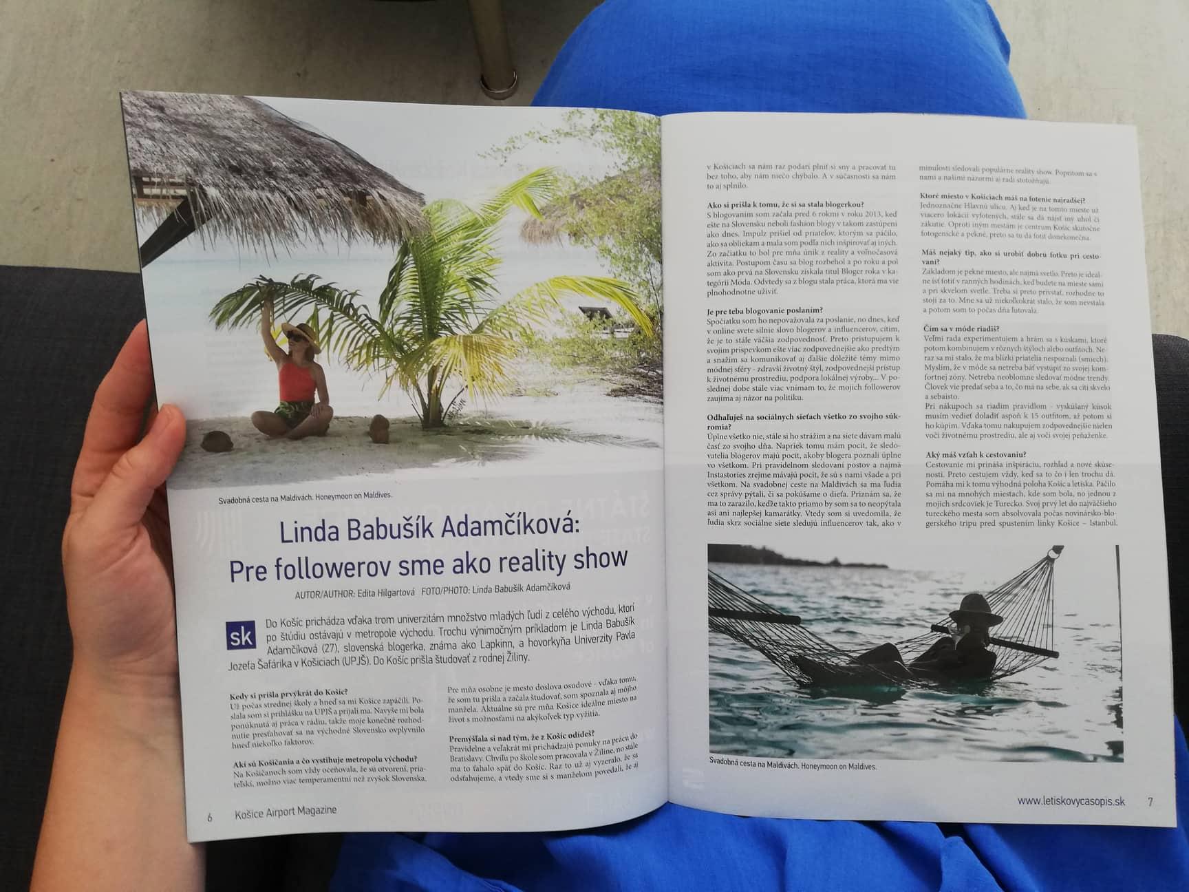 košice airport magazin