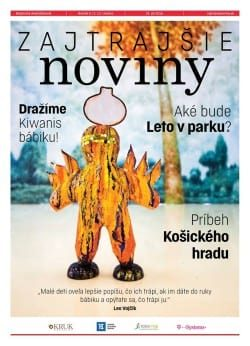 Grafika novín Zajtrajšie noviny