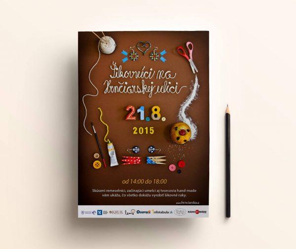Handmade plagát Šikovníci na Hrnčiarskej ulici