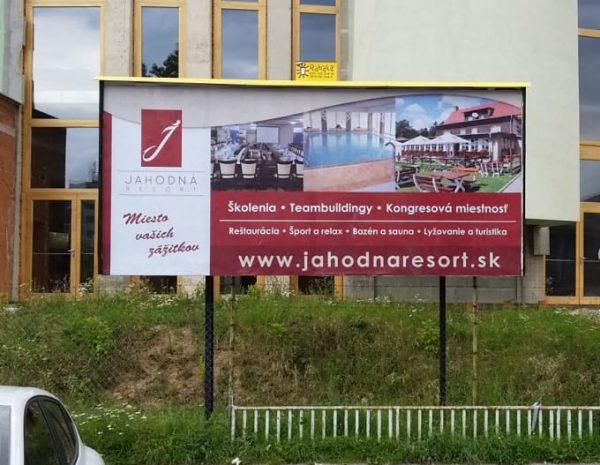 Grafika billboard Jahodná Košice