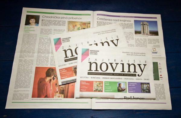 Grafika - Zajtrajšie noviny
