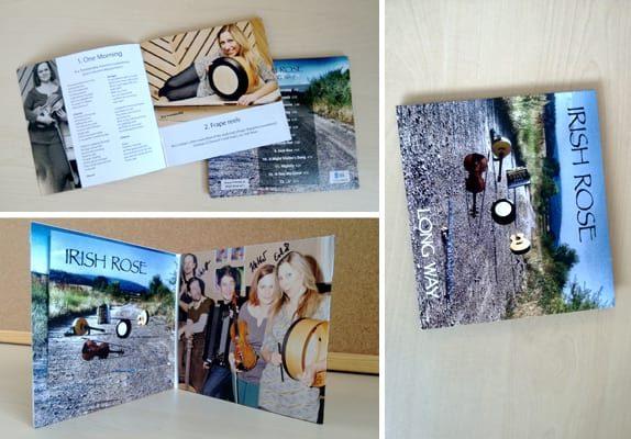 Grafika Cover CD Irish Rose Long Way