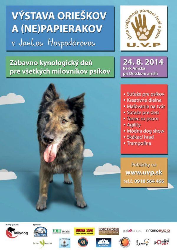 Grafika plagát UVP Košice - Výstava orieškov a (ne)papierakov