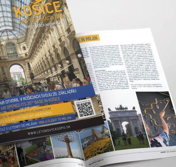 Ďalšie vydanie Košice Airport Magazine je na svete.