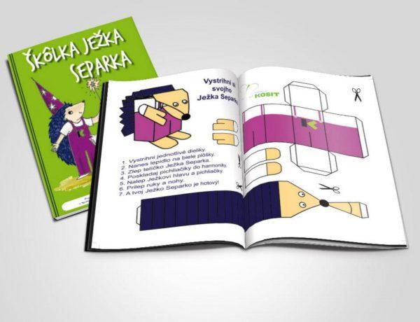 Grafické spracovanie manuálu Školka Ježka Separka