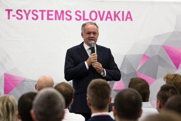 Kiska T-systems, prezident Kiska