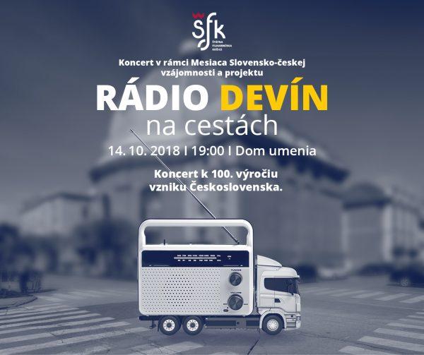 Grafika - vizuál Rádio Devín na cestách